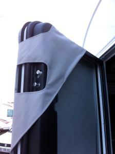 fixation protection thermique camping car intégral coté conducteur