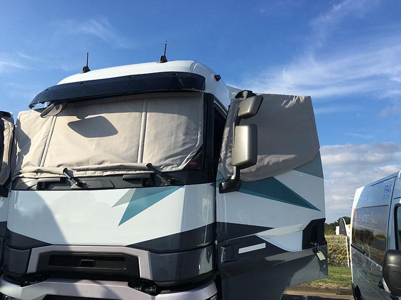protection thermique pour camion